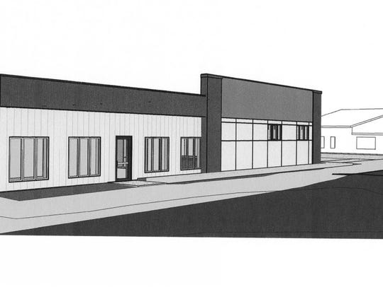 Architectural renderings for a new Wisconsin Woodchucks