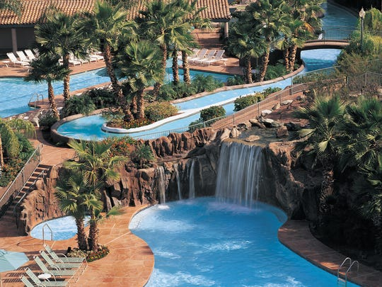 Pointe Hilton Squaw Peak Resort is best known for River Ranch, its four-acre water park located at the foot of the Phoenix Mountain Preserve.