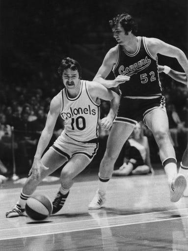 Gallery l Former UK basketball great Louie Dampier