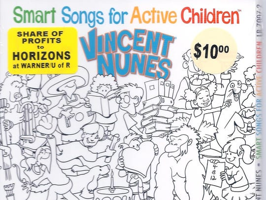 """Paul """"Vincent"""" Nunes' new CD, Smart Songs for Active Children, is now out."""