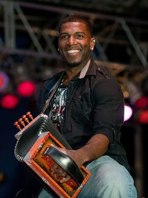 Lil Nate and the Zydeco Big Timers perform Sunday at the Yambilee Building in Opelousas.