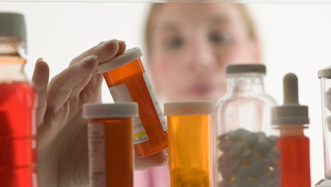 It's a good idea to lock up prescription medications, which can be tempting to bored teens.