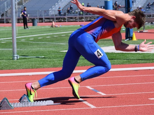 Douglas grad Dusty Fisher  is a track standout at Boise State