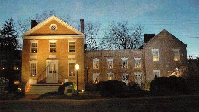 Teackle Mansion will be open during Olde Princess Anne Days Christmas.