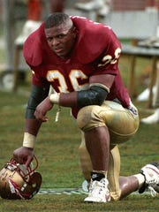 FSU linebacker Ken Alexander finished his career with 285 tackles.