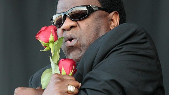 Al Green performs during the Bonnaroo Arts and Music
