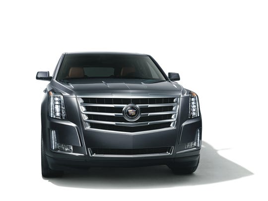The iconic Cadillac Escalade is a terrific vehicle, but won;t sell well outside the USA.