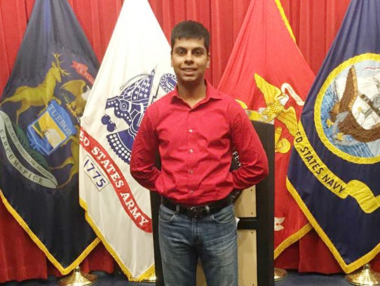 Raheel Siddiqui, 20, of Taylor, died during U.S. Marines