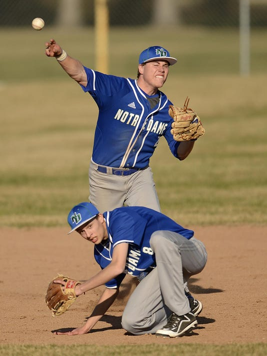 GPG GB Notre Dame vs GB Southwest baseball