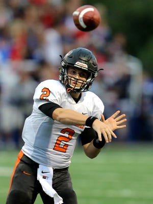 Ryle quarterback Tanner Morgan was one of the top players in the area for the 9-3 Raiders.