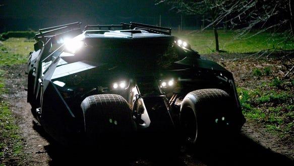 Batman likes black in 'Batman Begins.'