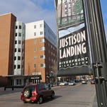 JENNIFER CORBETT/THE NEWS JOURNAL Millennials prefer to live in city apartments instead of suburban houses. Justison Landing on the Riverfront.