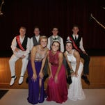 Pacelli High School celebrates its 2016 prom Saturday night, April 23, 2016, at its high school in Stevens Point.