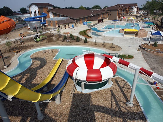 King's Pointe Water Park in Storm Lake
