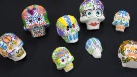 Day of the Dead sugar skulls.