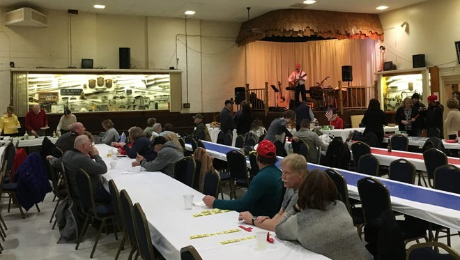 American Legion Post 8 held its fourth annual First Responders Appreciation Spaghetti Dinner on Jan. 17, 2018, in Port Huron.