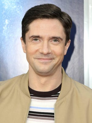 Actor Topher Grace is 42