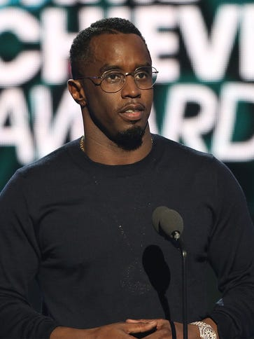 Sean 'Diddy' Combs speaks on stage during the 2015
