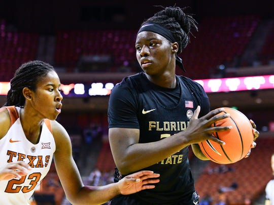 Shakayla Thomas recently finished her college career as Florida State's No. 2 all-time leading scorer.