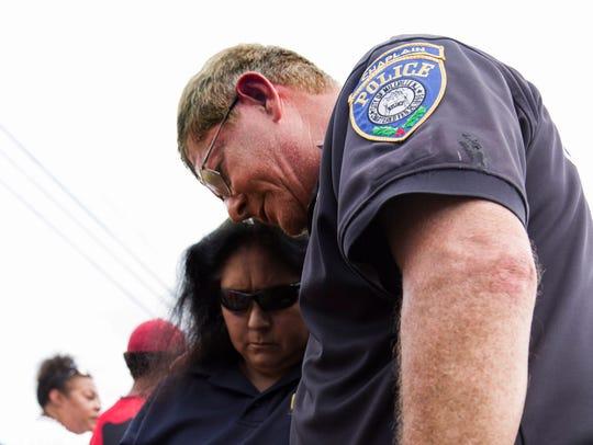 Chaplain Bob Bob Ossler of the Millville, NJ Police