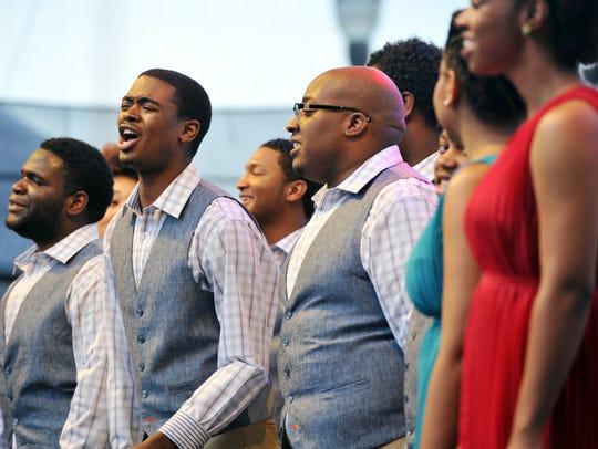 The Fisk Jubilee Singers always perform on Jubilee Day.