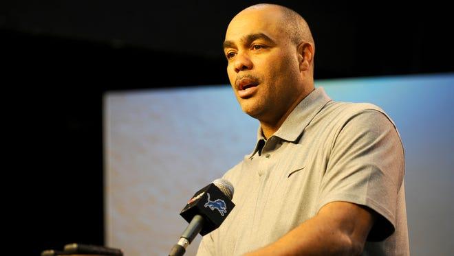 Lions defensive coordinator Teryl Austin