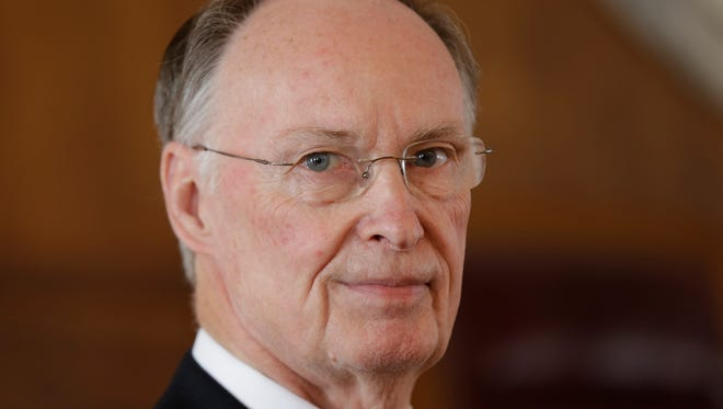 Alabama Gov. Robert Bentley and his wife reported income of more than $200,000 for 2014.