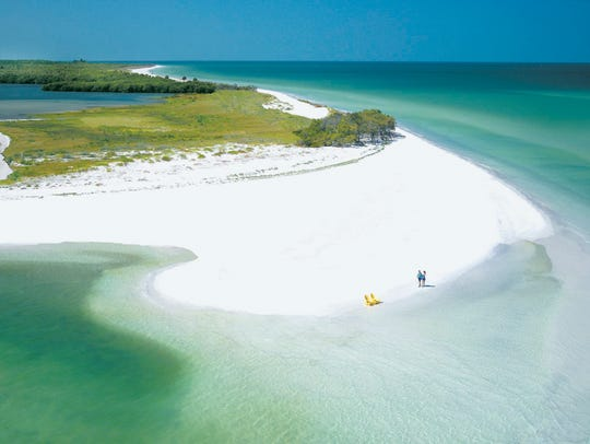 This undated photo provided by Visit Florida shows Caladesi Island State Park in Dunedin, Florida.