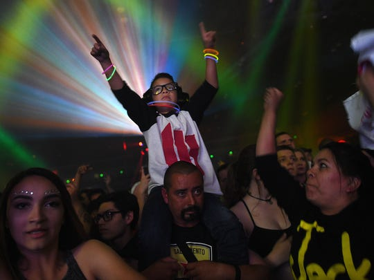 Skrillex performs at the Reno Events Center on May 27, 2016.