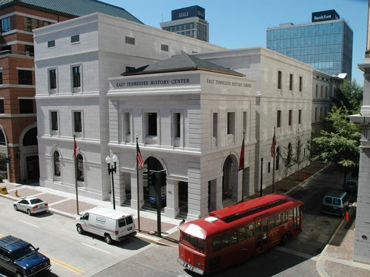 When the The East Tennessee History Center was built in 2004, local marble was used in its exterior to match that of its original Custom House.