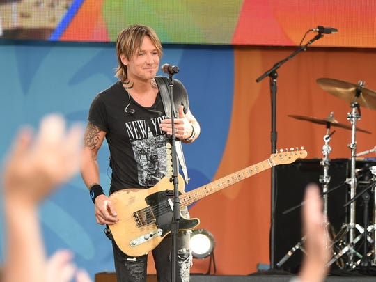 Keith Urban will perform May 27 at Indianapolis Motor Speedway.