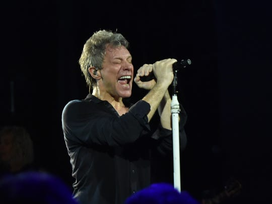 Singer Jon Bon Jovi hits the road for Bon Jovi's This