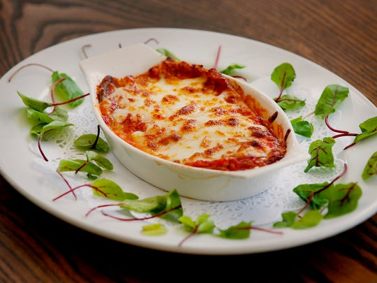 Parmigiana di elenzane, or eggplant Parmesan, is one of the specialty dishes at ROC, a new Italian restaurant on Bardstown Road.