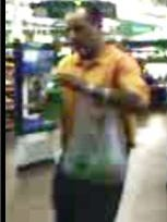 Police in Palm Bay are seeking a suspect wanted in relation to a case involving credit card fraud.