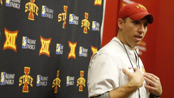 Some former Iowa State football greats will be back for the Cyclones' spring game on Saturday at Jack Trice Stadium.