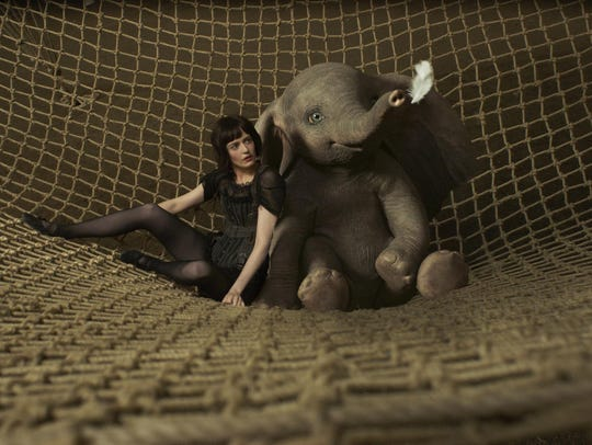 "Eva Green in a scene from ""Dumbo."""