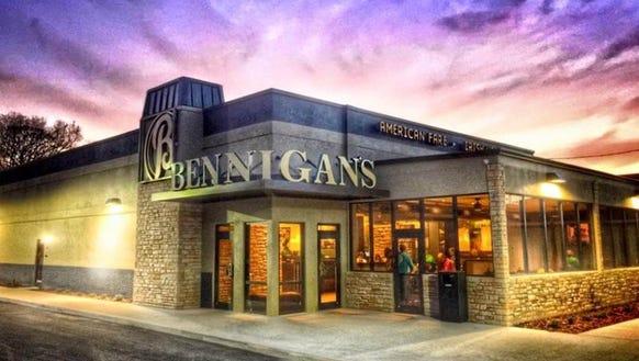 Bennigan's restaurant on West New Haven Avenue in West