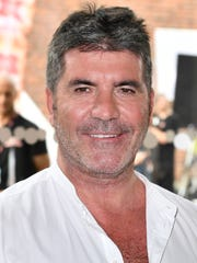 Simon Cowell attends the first day of auditions for