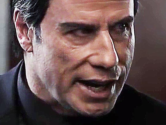 "John Travolta is in fine comedic form as a seemingly amiable mob boss but he's not to be trifled with when it comes to ""Criminal Activities."""