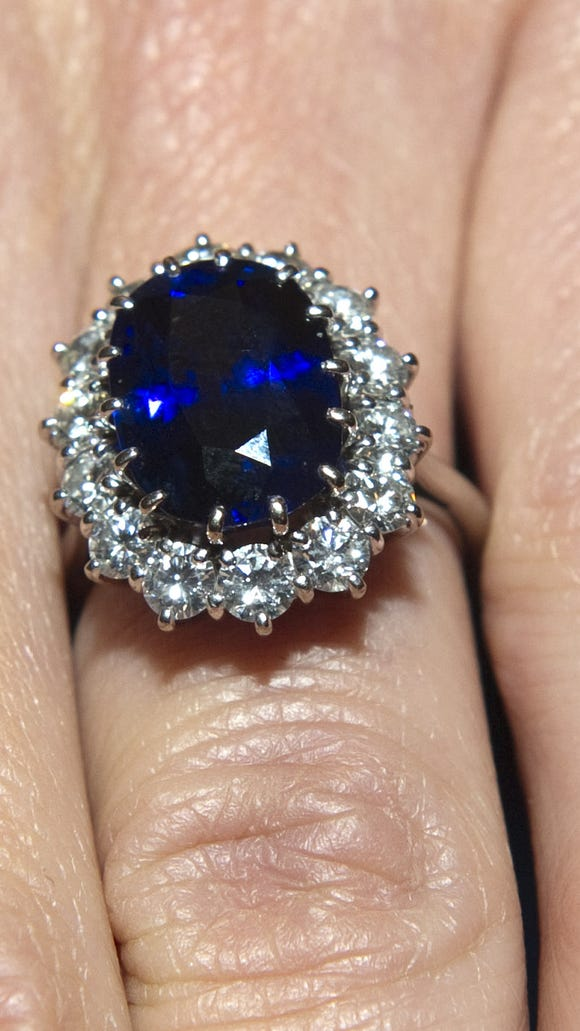 Princess Diana S Shire Engagement Ring Now Worn