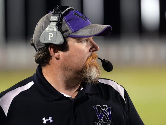 North Webster head coach John Ware has his Knights ranked No. 1 in the Class 3A poll this week.