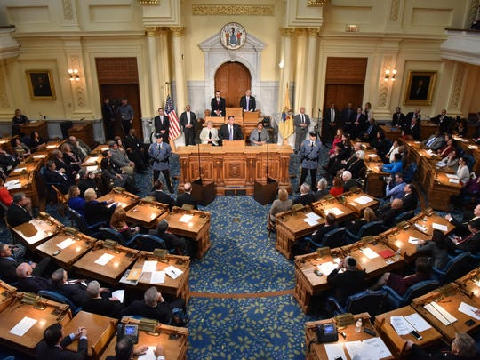 Assembly races will be at the top of the ballot in this fall's Nov. 5 general election.