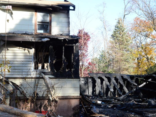 Vineland authorities are investigating what caused a fire to destroy this West Sherman Avenue home late Friday night.