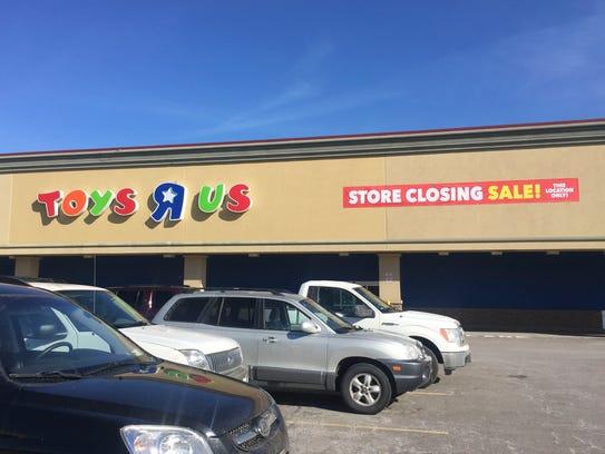 Toys R Us, at 1530 W Ridge Road in Greece, NY, will