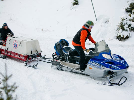 AP Montana Avalanche Death