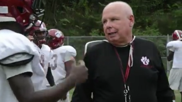 Charlie Metcalf has been an assistant football coach at Asheville High for 12 years.