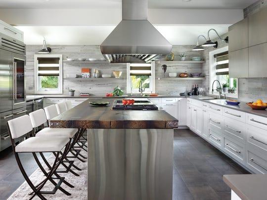 Kitchen designed by Peter Salerno Inc., Wyckoff