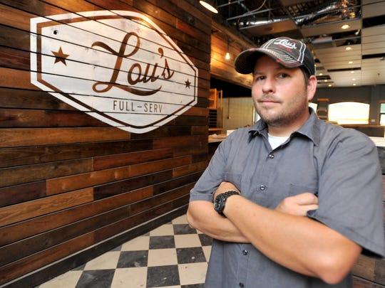 Chef Louis Larose at Lou's Full-Serv Neighborhood Kitchen
