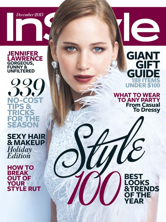 InStyle Dec 2013 Cover