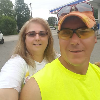 Shauna Patrick and her husband, Michael Todd Patrick,